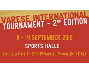 "I Leoni Sicani, in pista al ""Varese International Tournament - 2nd Edition"""